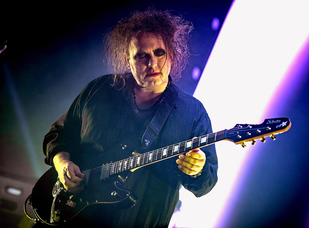 The Cure in concert at Wembley Arena