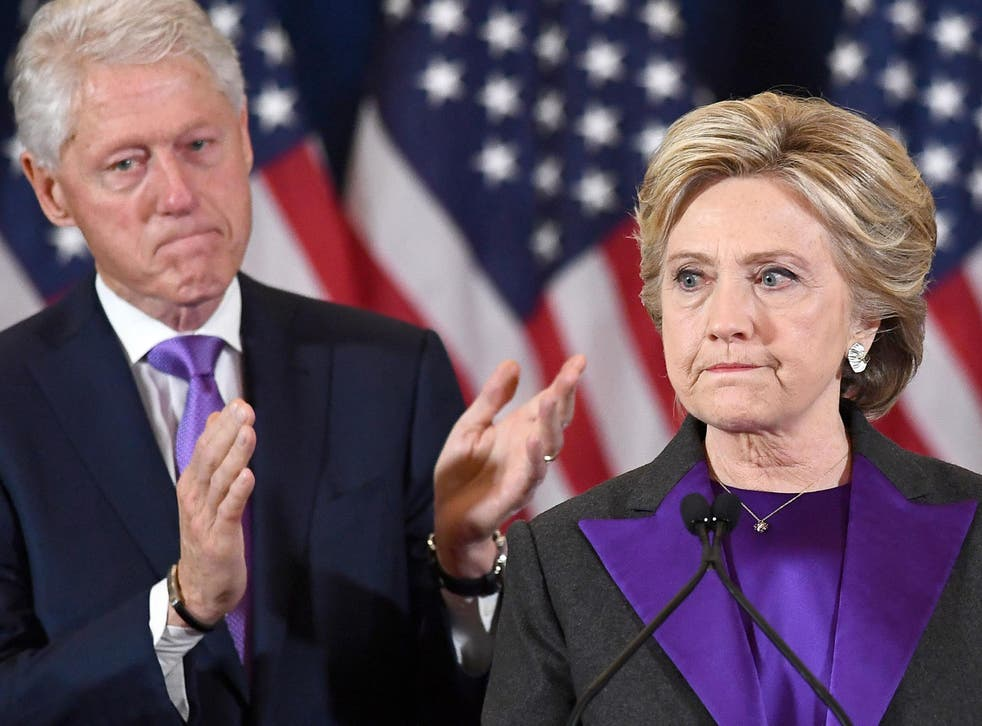 Hillary Clinton and her husband contemplate defeat