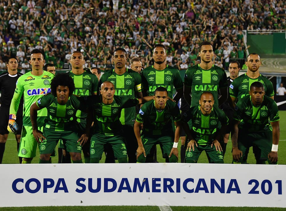Chapecoense were travelling to compete in the Copa Sudamericana final