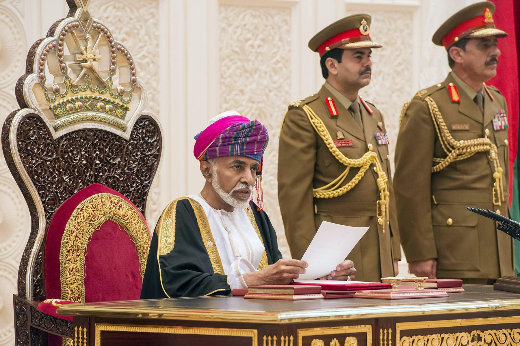 The sultan of oman homosexual relationships