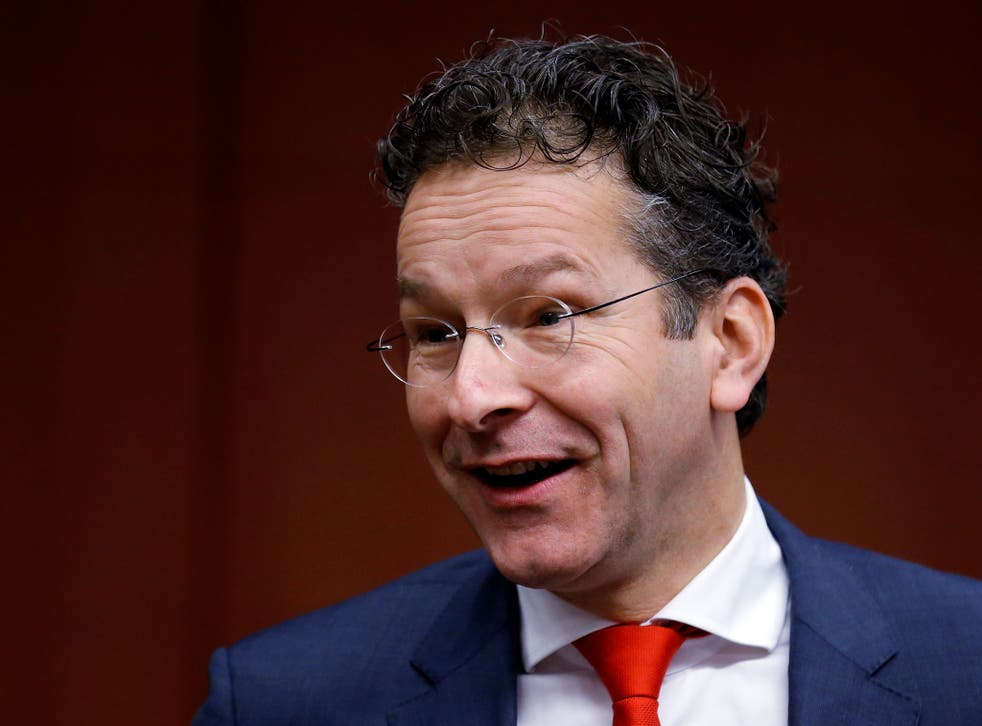 """The comments come """"from a tough Dutch Calvinistic culture, with Dutch directness,"""" Dijsselbloem said in the Hague on Wednesday"""
