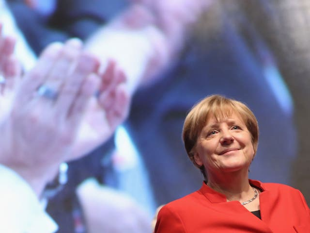 Merkel's party plans to ensure social media companies take down incidents of hate crime within 24 hours