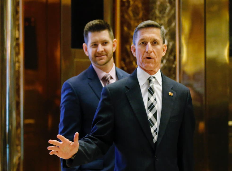 Both Mr Flynn and his son have frequently shared and posted white supremacist-style conspiracy theories
