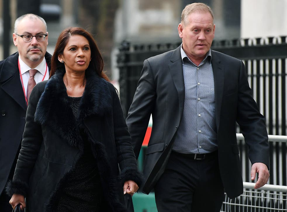Lead claimant in the Article 50 case, Gina Miller arrives at the Supreme Court in London