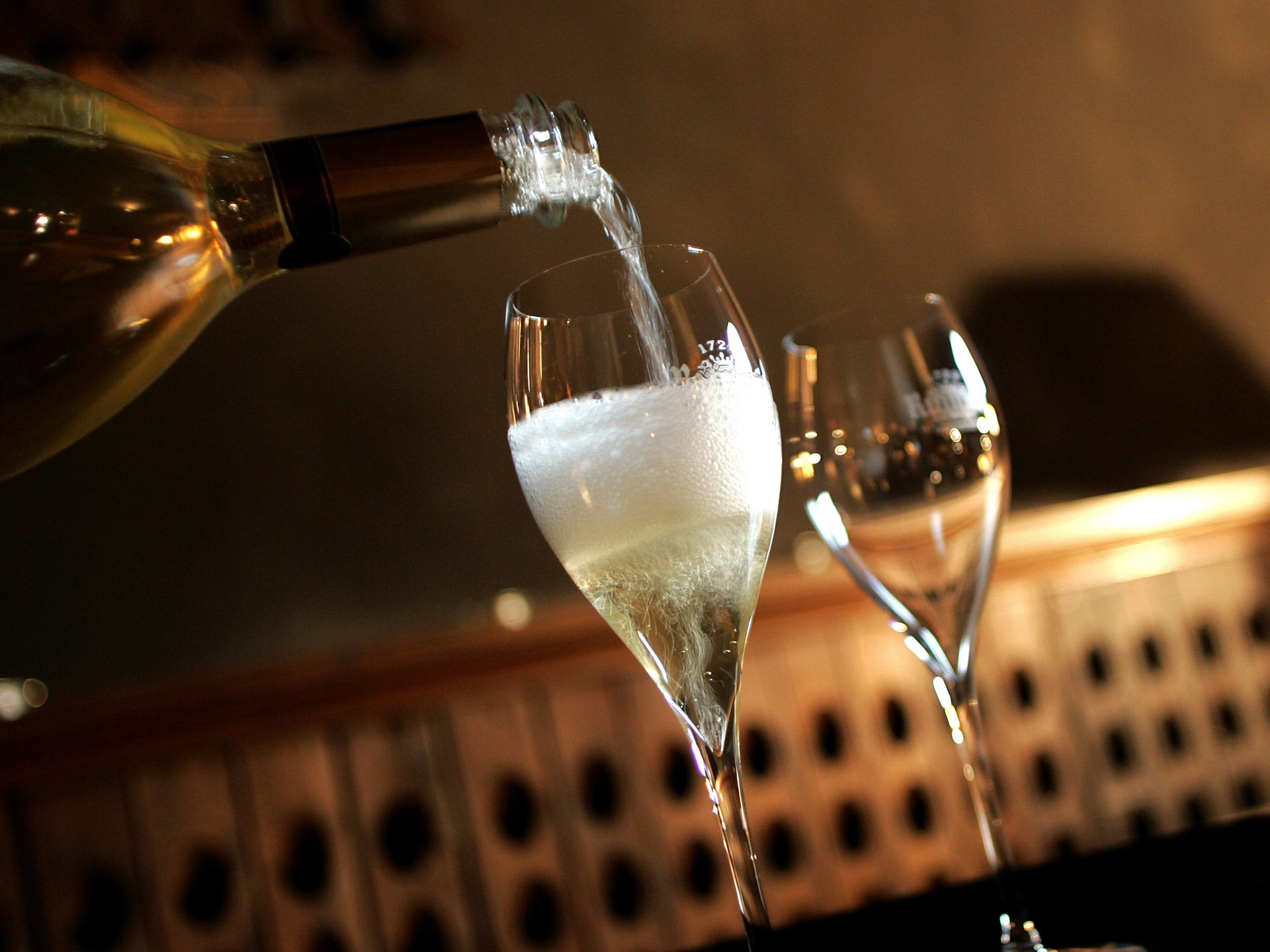 What is the shelf life of champagne