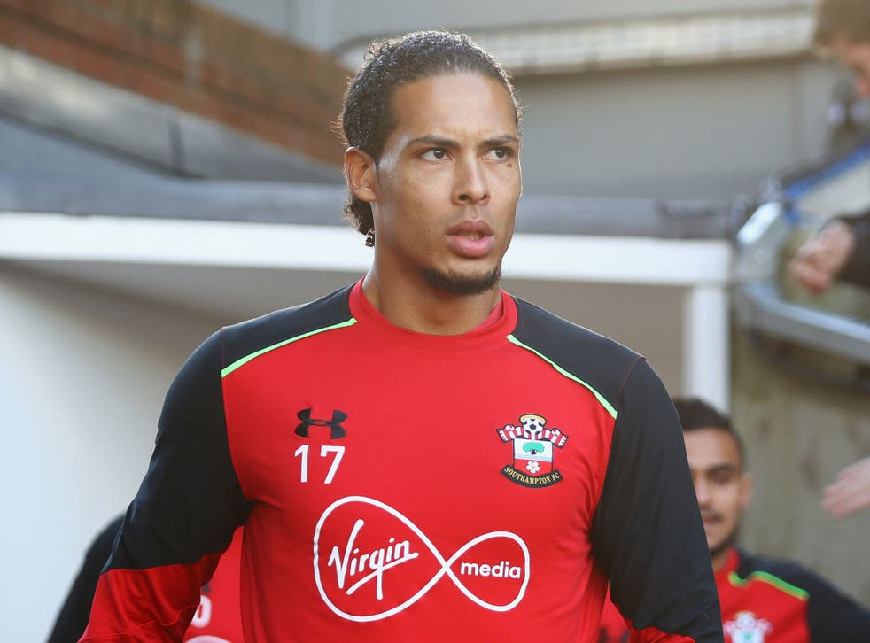 Van Dijk has been linked with a move to Anfield in recent months