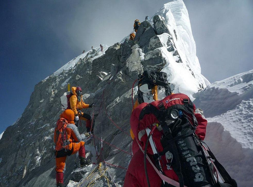 The Hillary Step is believed to have been destroyed during Nepal's 2015 earthquake