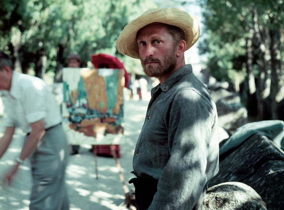 Portrait of the artist: Douglas in his Oscar-nominated role as Vincent van Gogh in 1956's 'Lust for Life'. He later said that his whole persona had been consumed by the part