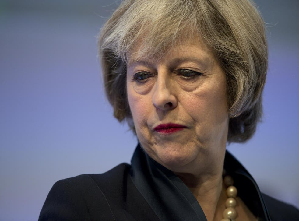 The admission goes against Theresa May's wishes to end the authority of EU law
