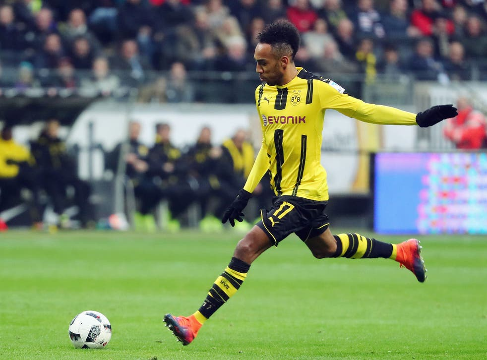 The Gabonese forward has scored a total of 85 goals from 125 appearances for Borussia Dortmund