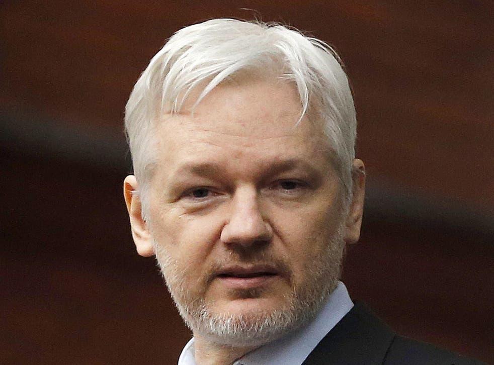 Julian Assange, of Wikileaks