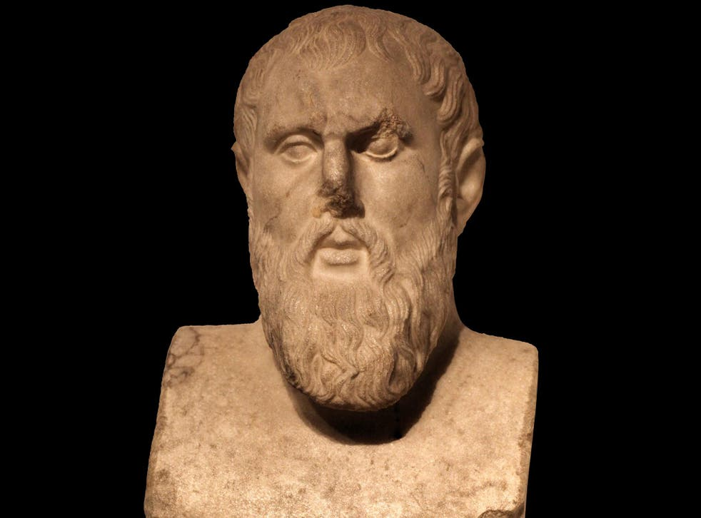 Zeno of Citium, the founder of the school of stoicism