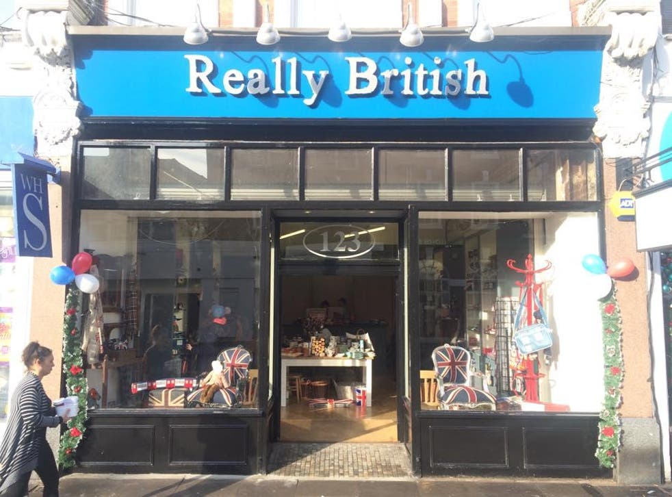 'Really British' opened in Muswell Hill at the end of November has recieved a barrage of abuse for it's 'divisive' name