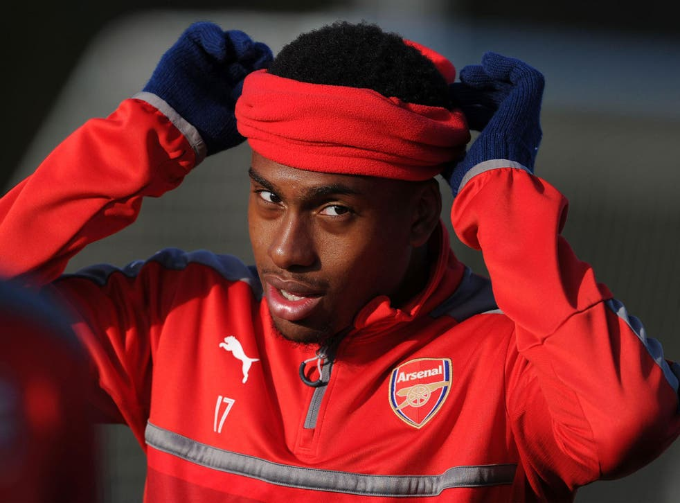 Iwobi has enjoyed an impressive rise to prominence after making his Arsenal debut 13 months ago