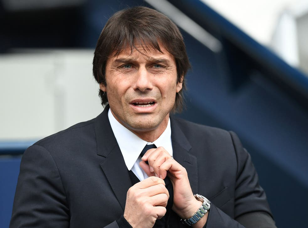 Conte's side will be hoping to claim their ninth successive league win on Saturday