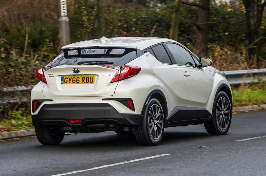 car review: toyota c-hr hybrid | the independent