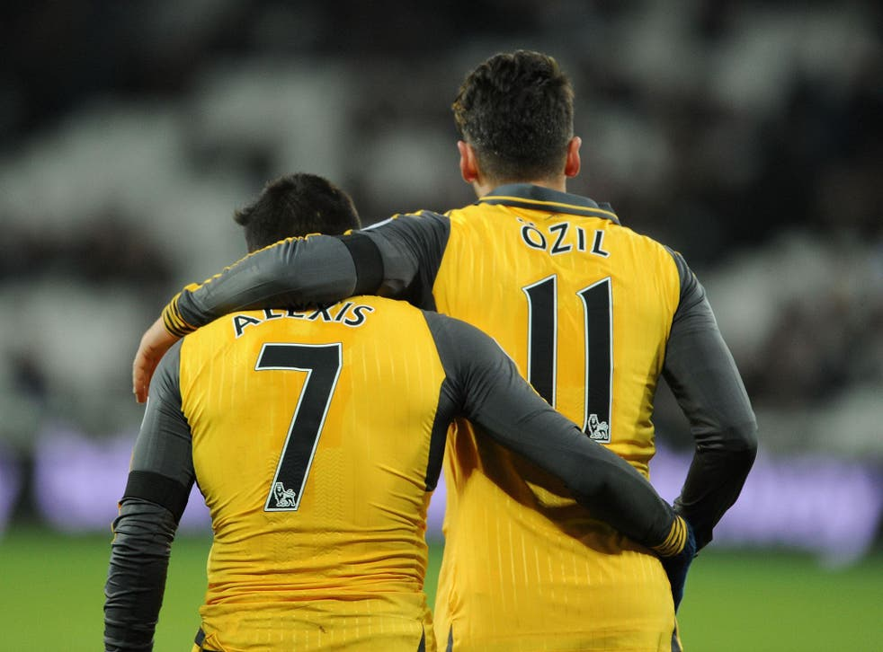 Alexis Sanchez & Mesut Ozil have formed a lethal partnership this season