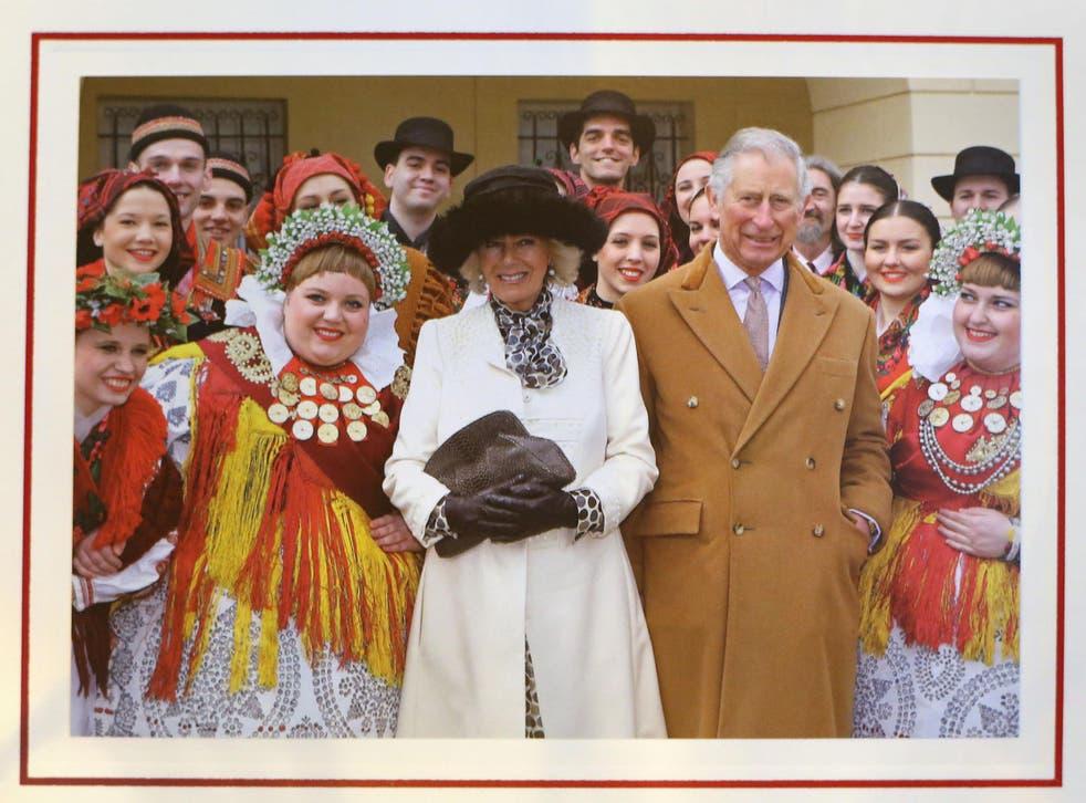 Prince Charles and Camilla 2016 Christmas card