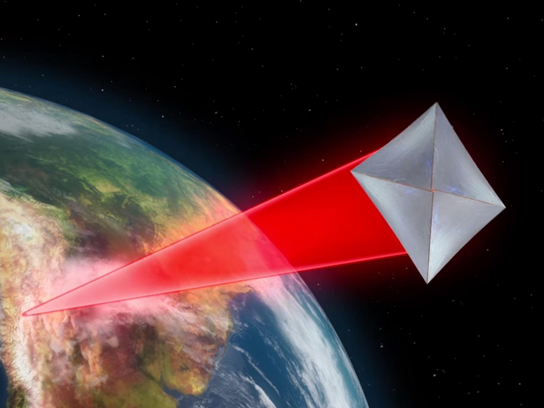 Time travel may be possible after scientists successfully send light - Nasa And Stephen Hawking Are Working On A Nano Starship That Can Travel 1 5th The Speed Of Light The Independent
