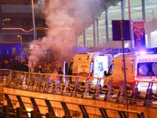 Death toll rises to 38 after twin explosions outside Istanbul stadium