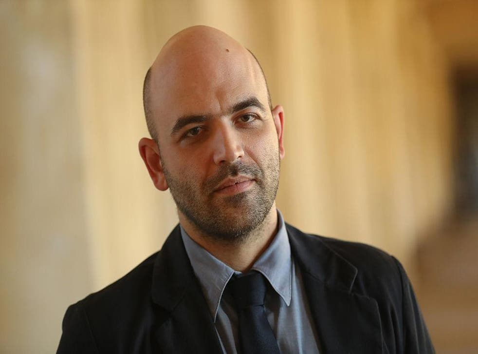 Italian investigative journalist and writer Roberto Saviano. Picture: