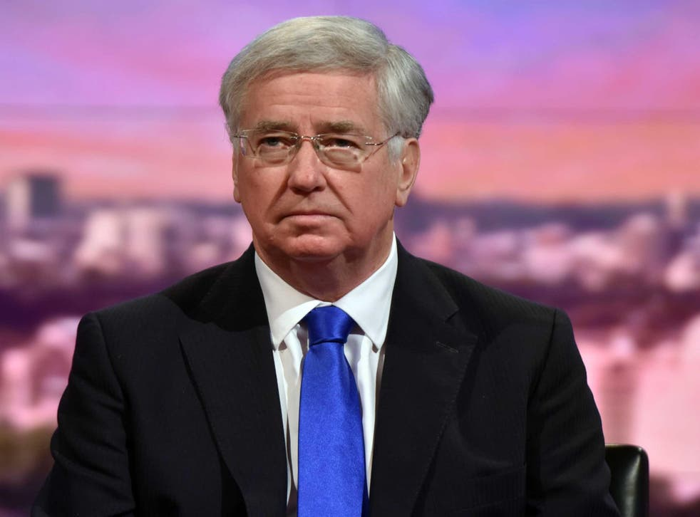 Defence Secretary Sir Michael Fallon said the security services foiled more than 12 UK terror plots last year