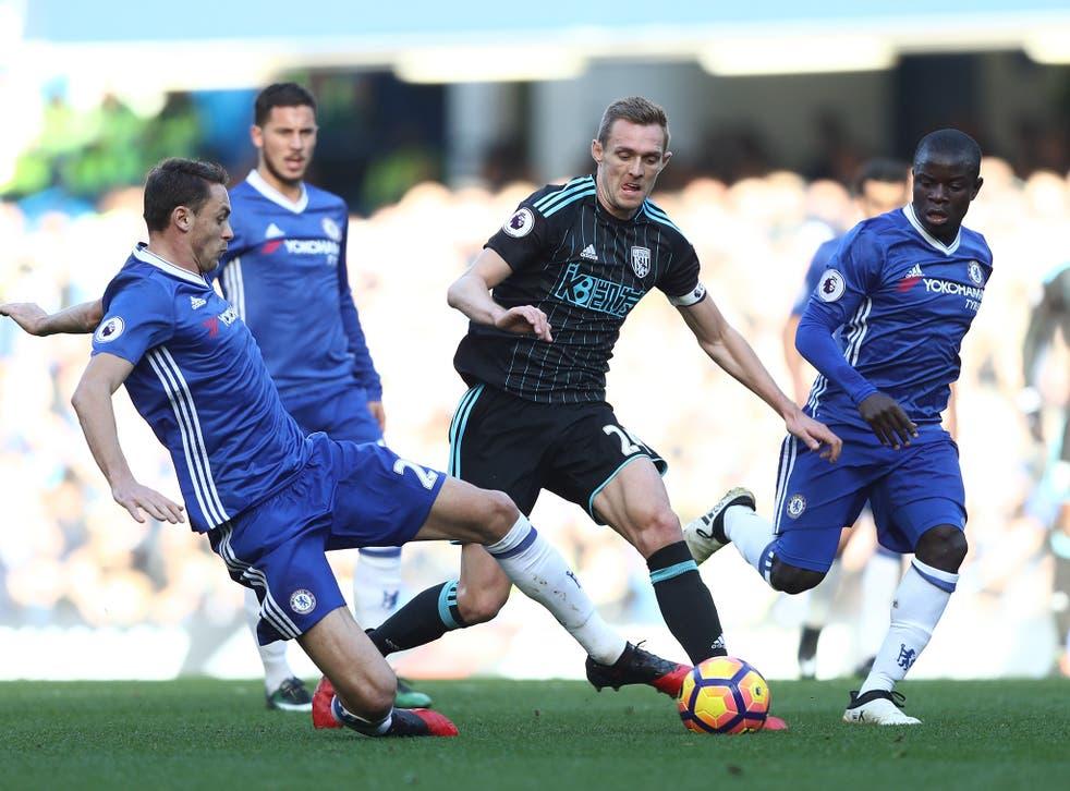 Fletcher dances through the Chelsea midfield at Stamford Bridge