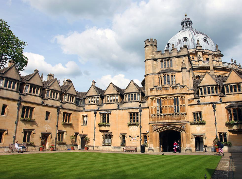 A former Oxford student is claiming for lost earnings based on his 'negligent' teaching while an undergraduate at the university