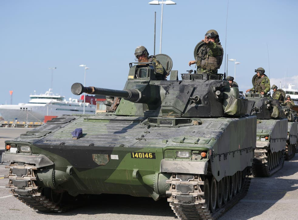 Gotland re-militarised an old Cold War base in early 2016 following tensions between Sweden and Russia