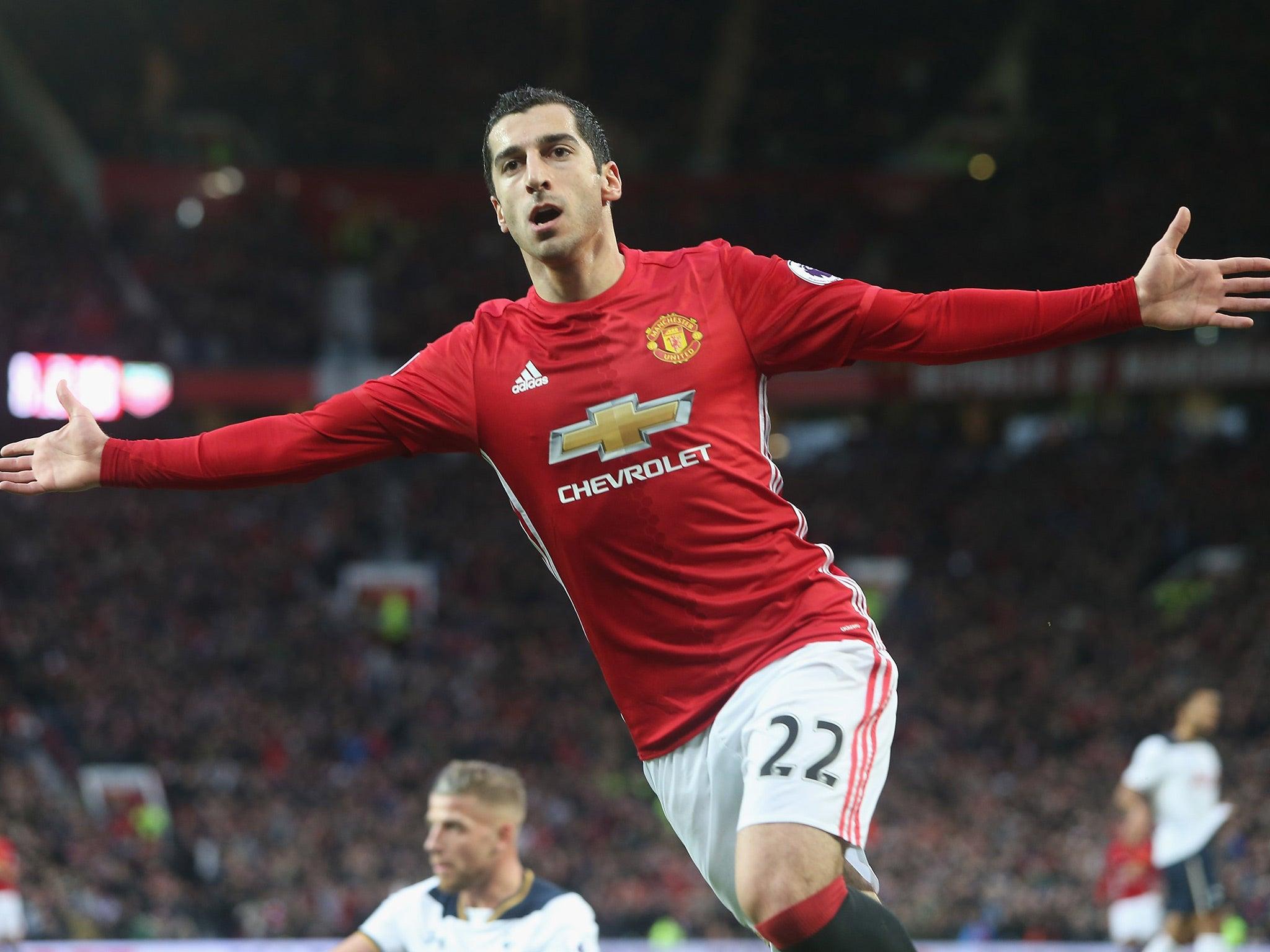 Manchester United vs Tottenham match report Henrikh Mkhitaryan