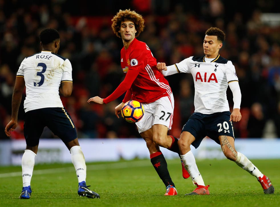 Marouane Fellaini made another appearance as a substitute but managed to avoid conceding a penalty this week