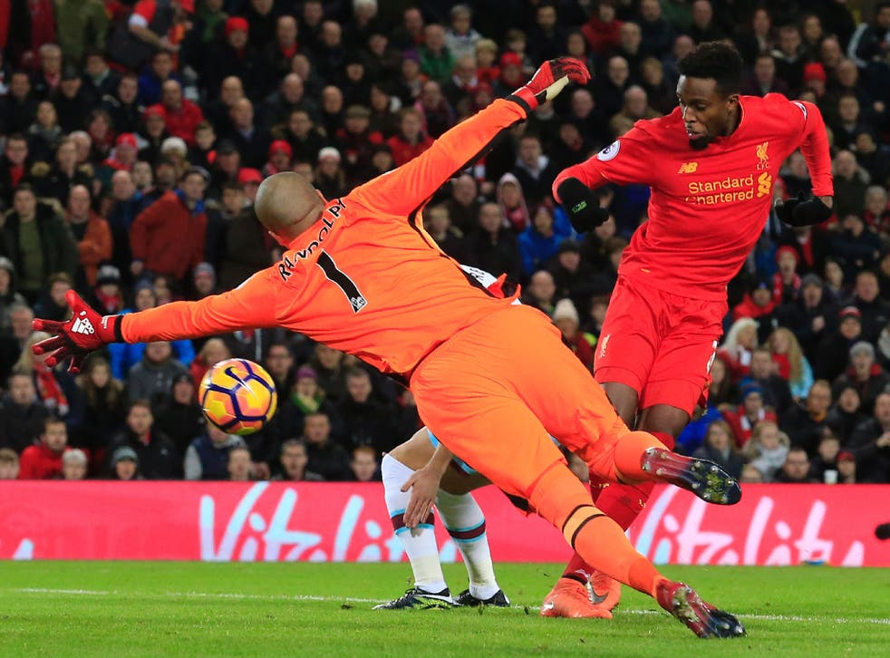 Origi pulled the hosts level at the start of the second half