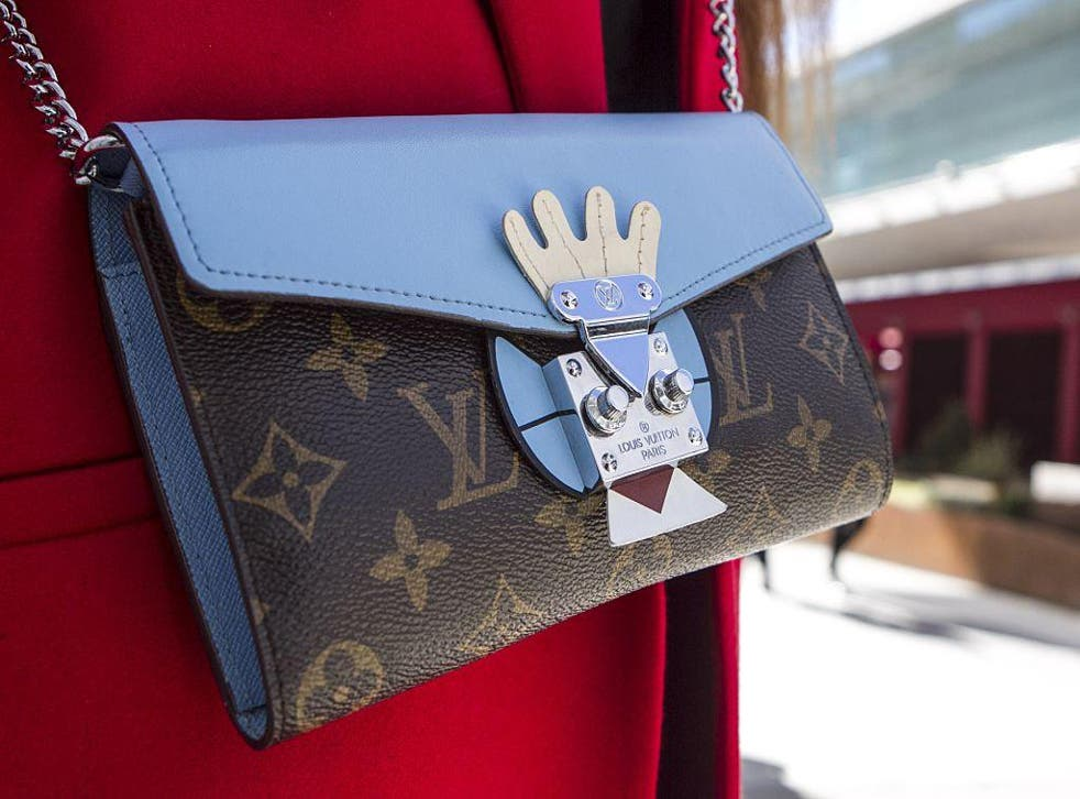 Louis Vuitton is among 11 luxury designer handbags on the app Entrupy says can be analysed with