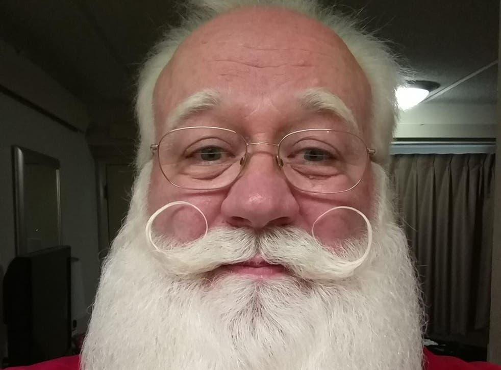 Father Christmas actor Eric Schmitt-Matzen