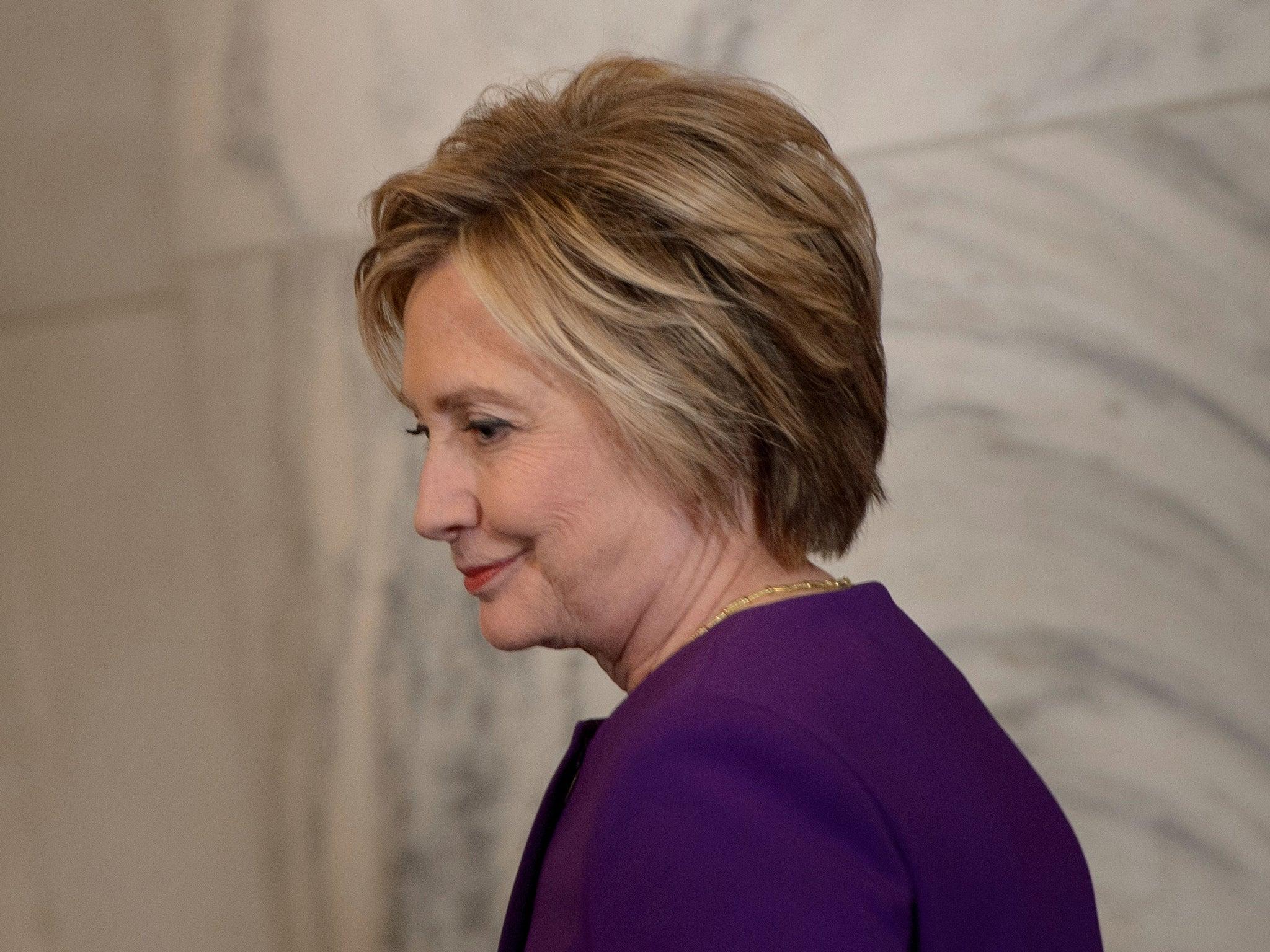 Hillary clinton twists the knife into michael flynn over fake hillary clinton twists the knife into michael flynn over fake news the independent aljukfo Choice Image