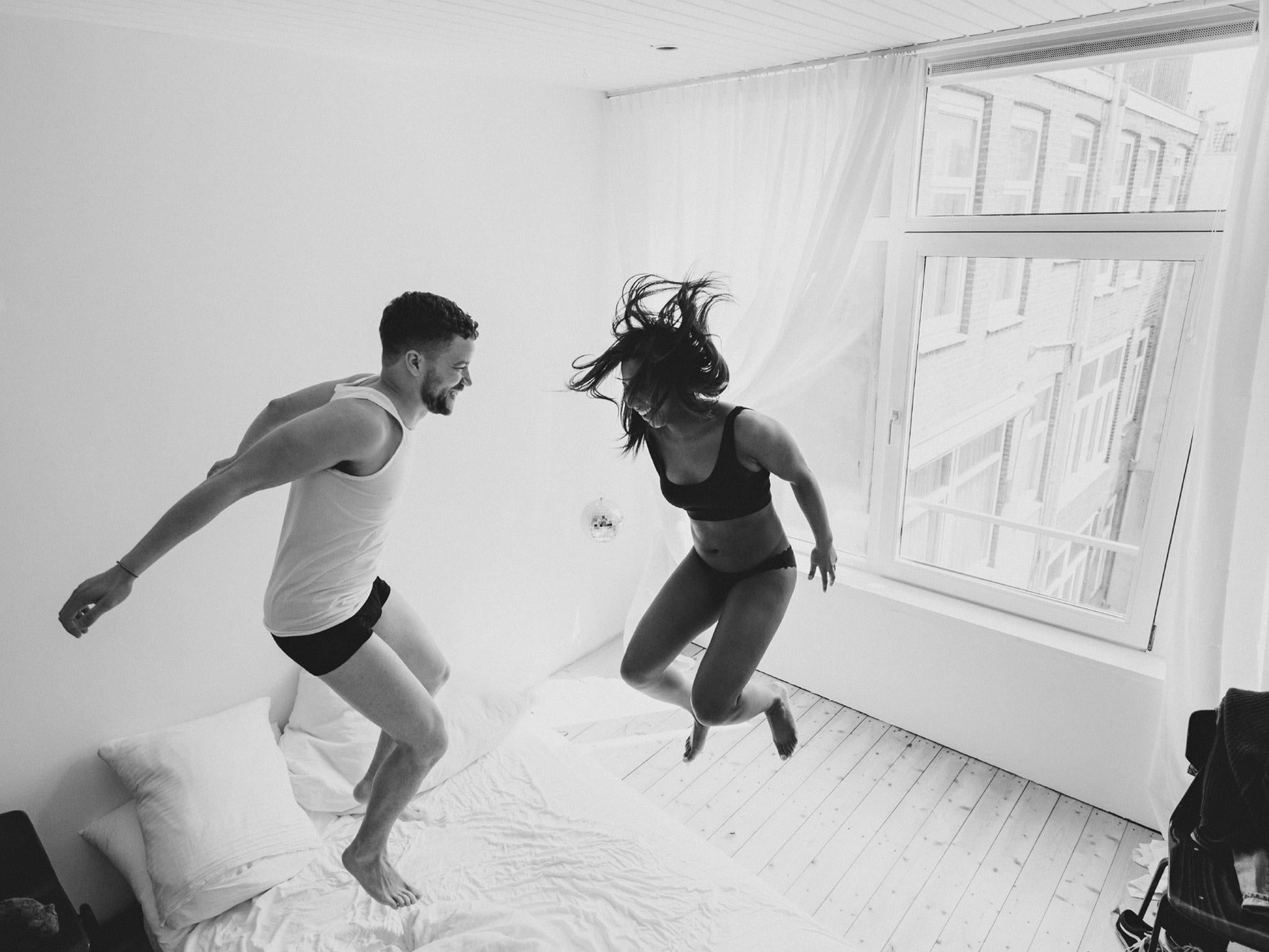 Intimate moments between couples totally in love caught on camera