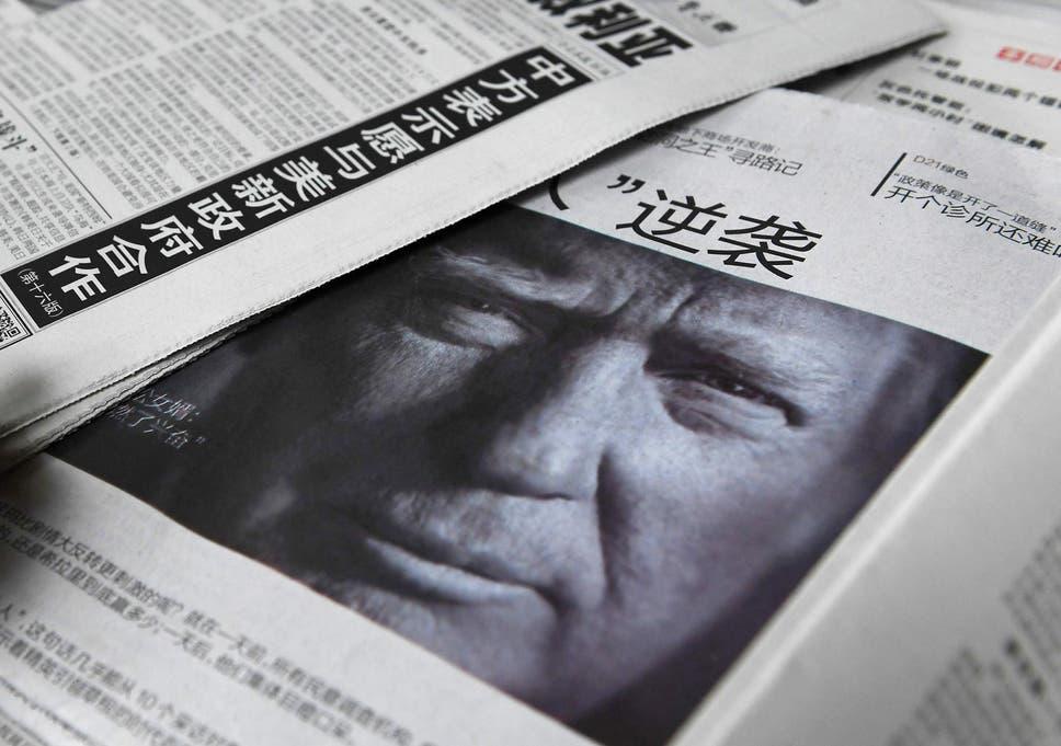 Donald Trump inauguration: Chinese media warns of 'dramatic changes