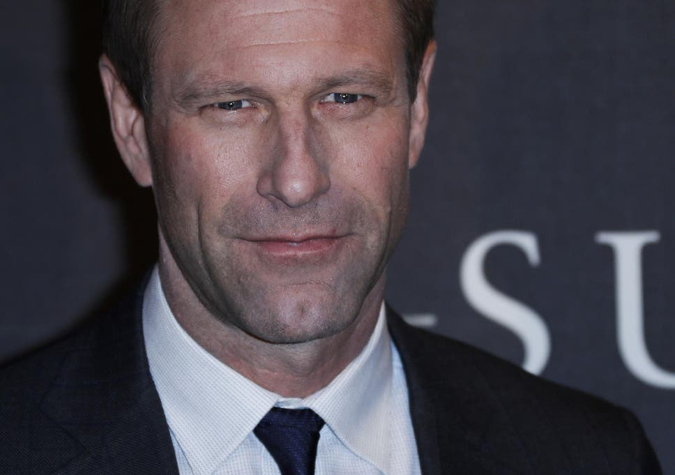 Aaron Eckhart Poses During The Photocall Of US Director Clint Eastwoods Latest Movie Sully