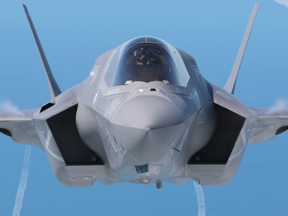 An F35 Fighter Jet. Donald Trump Said The U0027F35 Program And Cost Is Out