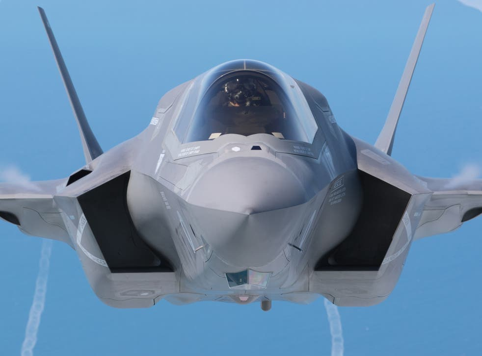 The feared plot is alleged to concern information on the UK's new F-35 stealth jets
