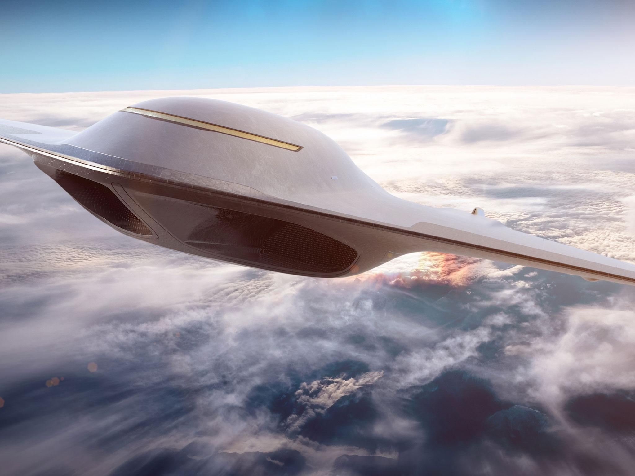 Space travelling passenger jet could make London to New York in two hours