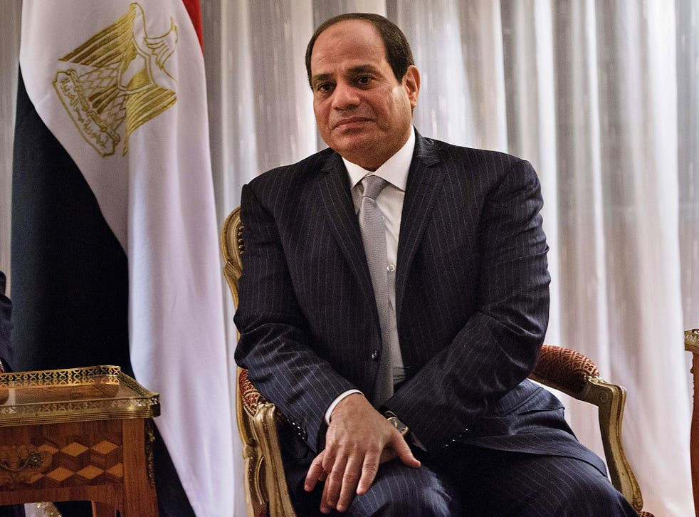 The Egyptian president vowed his government would fight discrimination in the country, but many feel little has changed