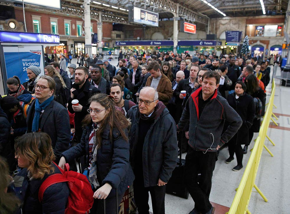 Rail passengers have been hit by travel chaos as striking train drivers bring the Southern network to a halt.