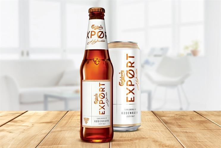 Carlsberg beer undergoes £15m rebrand in attempt to win back millennials