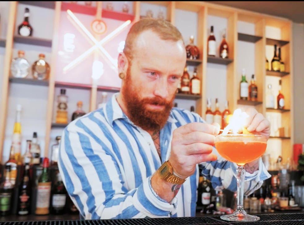 Gavin Wrigley is the head of education at the European Bartender School