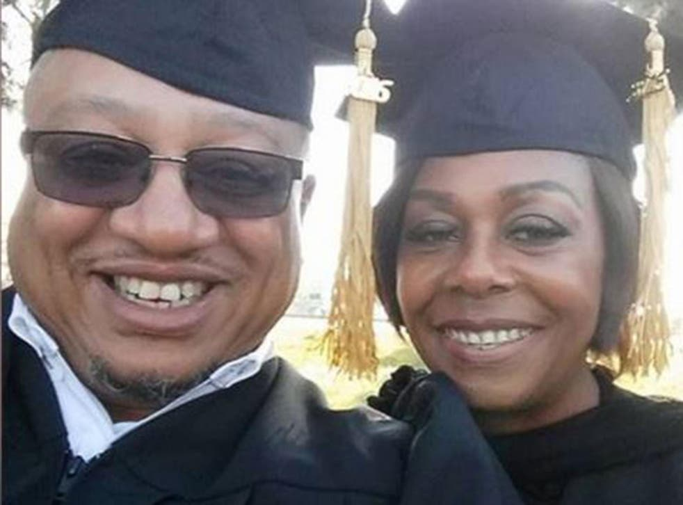 Charles and Renate Cole battled drug addiction two decades ago but fought on to graduate