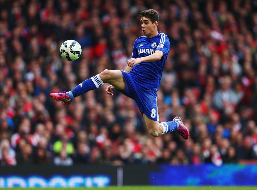 Oscar has failed to make an impression on Blues boss Antonio Conte