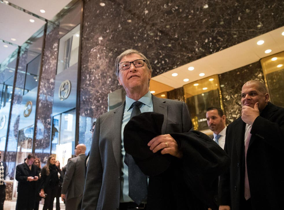 Bill Gates held talks with Donald Trump at Trump Tower during which they reportedly discussed 'innovation'