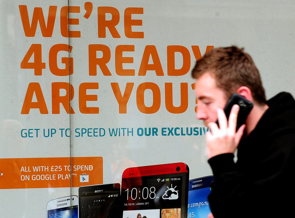 """Market provision of mobile services has left too many """"digital deserts"""" and """"not spots"""" where users cannot get 4G signals, the National Infrastructure Commission (NIC) found"""