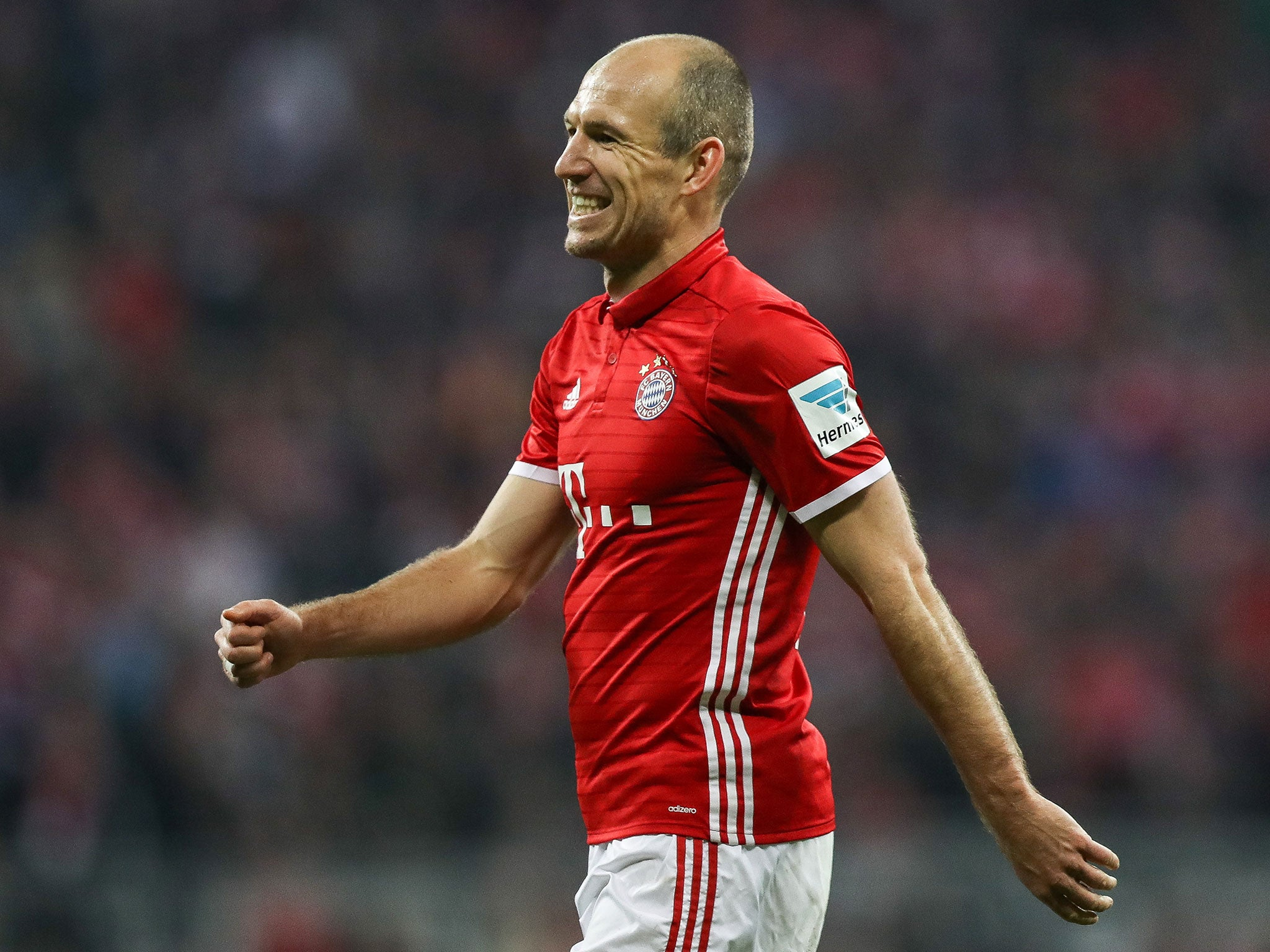 Arjen Robben would rather face Leicester than Arsenal but